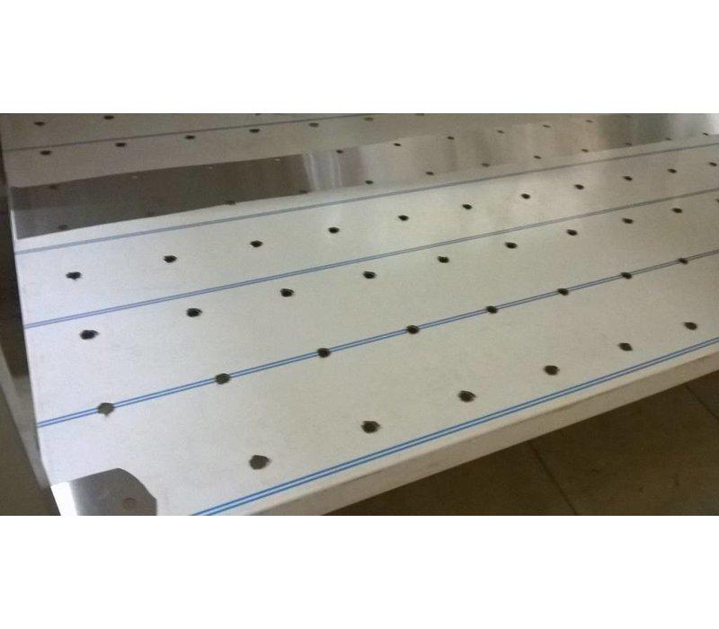 XXLselect Machen Sie den geschlossenen unteren Regal oder ein Regal zwischen perforiertem Regal - Inkl. Montage