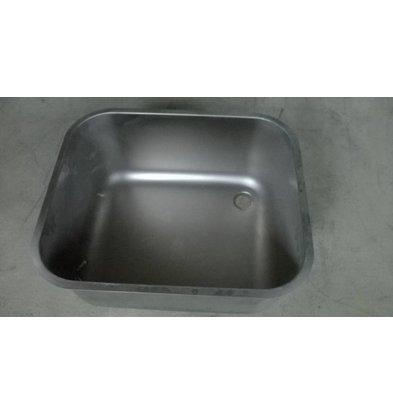 XXLselect Zusätzliche Edelstahl dient Sink Sinks, Schreibtische - 400x400x250 (h) mm - inklusive Montage