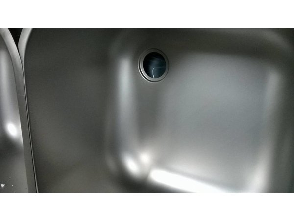 XXLselect Zusätzlicher Edelstahl-Spüle XL dient Spülen, Schreibtische - 500x400x250 (h) mm - inklusive Montage