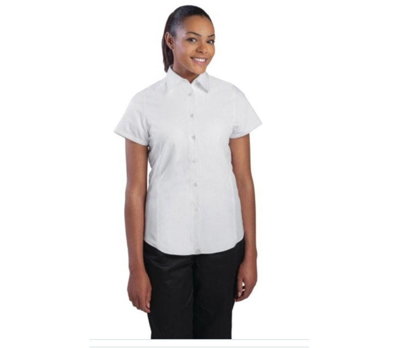 Chef Works Cool Vent Chef Shirt - White - Available in four sizes - Women