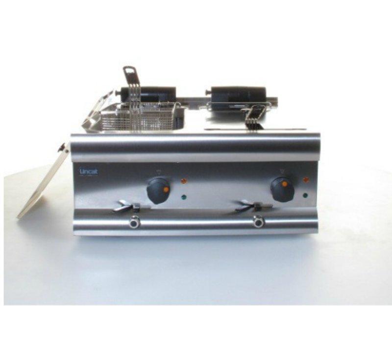 Lincat Fryer Lincat | 2x9 Liter | 2x3kW | 600x600x (H) 335mm