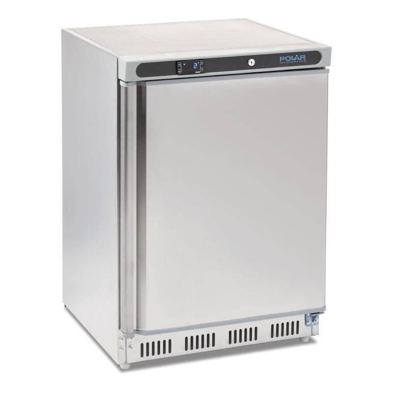 Horeca RVS koelkast 150L kopen? Polar GACD080   XXLhoreca
