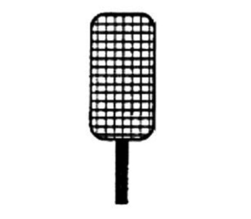 Diamond Mand RVS Voor Pastakoker | Frontale Handgreep | 165x295x230(h)mm