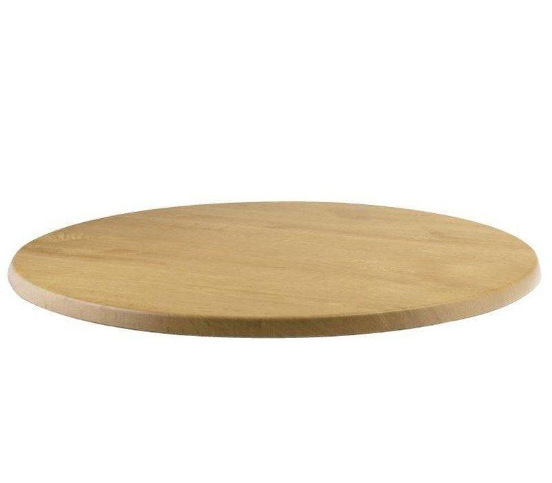 XXLselect Werzalit eiken tafelblad, rond 70cm