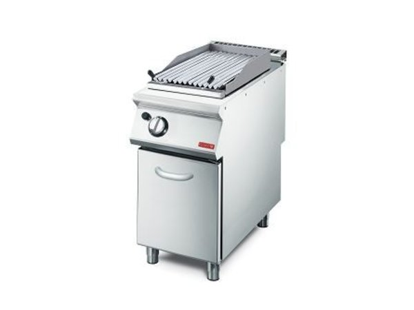 XXLselect Lavasteengrill Gas | V-Grill | 7,6kW | 400x700x850(h)mm