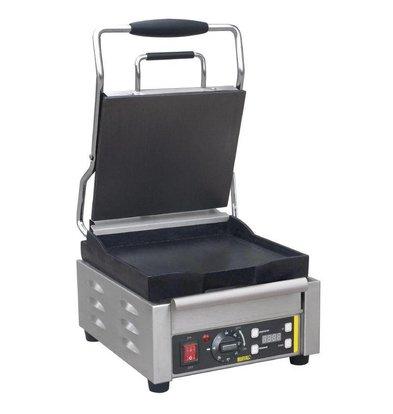 Buffalo Contactgrill Heavy Duty - Smooth - 29x40x (h) 24cm - 2000W - Digital