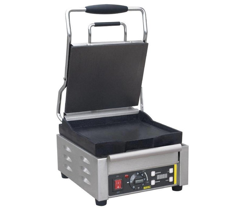 Buffalo Kontaktgrill Heavy Duty - glatt - 29x40x (h) 24cm - 2000W - Digitale