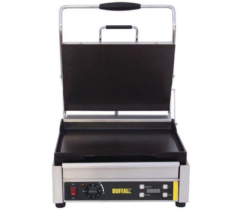 Buffalo Contactgrill Heavy Duty Large - Glad - 41x45x(h)24cm - 2200W - Digitaal