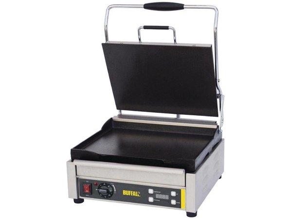 Buffalo Kontakt Grill Heavy Duty Large - Plain - 41x45x (h) 24cm - 2200W - Digitale