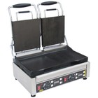 Buffalo Contact Grill Double - Heavy Duty - Right Rib / Rib - Left Smooth / Smooth - 2900W - Digital