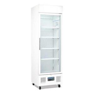 Polar Display-Kühlschrank mit Glastür - 336 Liter - 62x57x (h) 190cm