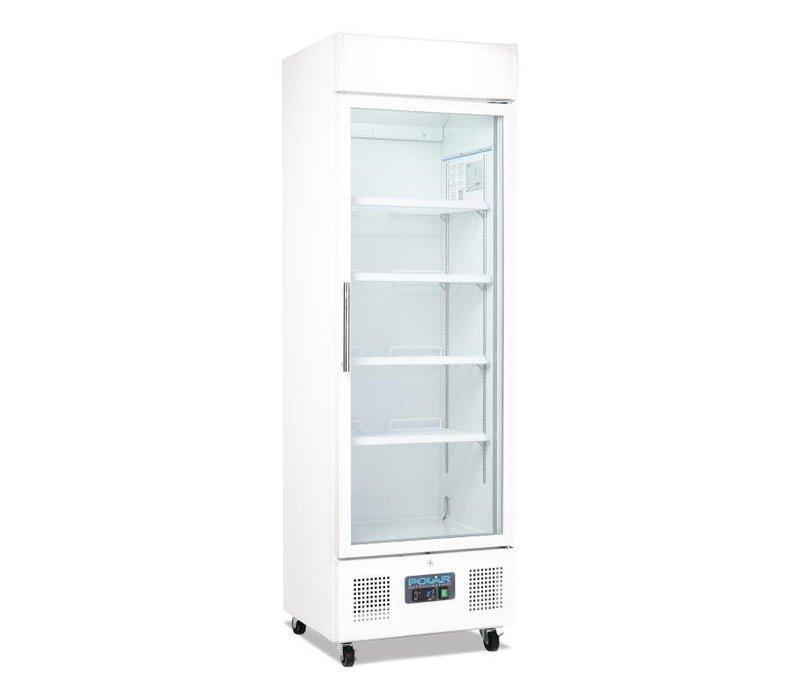 Polar Display Refrigerator With Glass Door 336 Liter 62x57x H