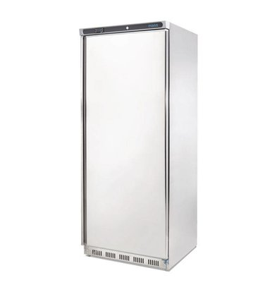 Polar Stainless steel catering fridge - 600 liters - 77x70x (h) 189cm