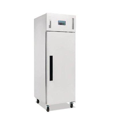 Polar Edelstahl Kühlschrank Catering auf Rädern - 2/1 GN - 600 Liter - HEAVY DUTY - 68x83x (h) 199cm