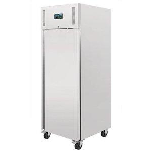 Polar RVS - Kühlung für 2/1 - 1/1 GN Behältern - 650 Liter - Selbstschließende - 74x83x (h) 201cm