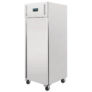 Polar Catering RVS Freezer - 650 liters - 74x83x (h) 201cm
