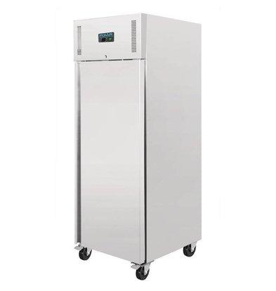 Polar Catering RVS Freezer - 650 liters - 74x83x (h) 201cm