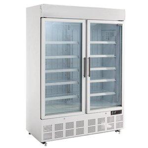 Polar Display Vrieskast - 950 Liter -137x74x(h)204cm