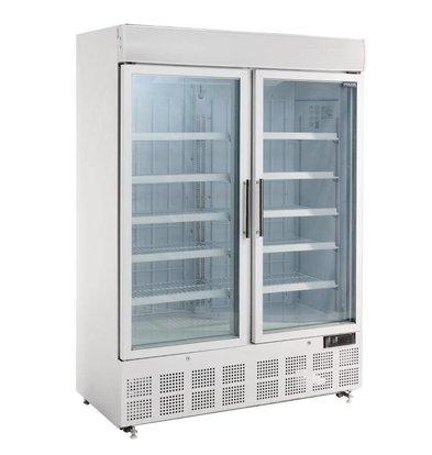 Polar Anzeige Tiefkühlschrank - 950 Liter -137x74x (h) 204cm
