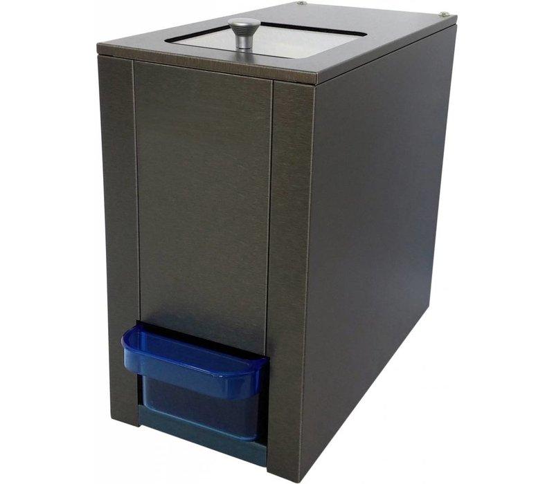 XXLselect Ice Brech- - 180kg / h - Vorratsbehälter 1kg - HEAVY DUTY - 175x330x (H) 315mm