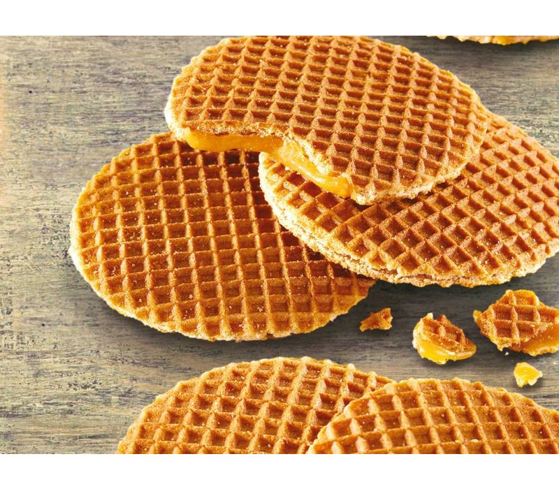 Neumarker Caramel Waffles Machine / Stroopwafel Iron - For Fairs and Markets Stores - 300x320x (h) 300mm