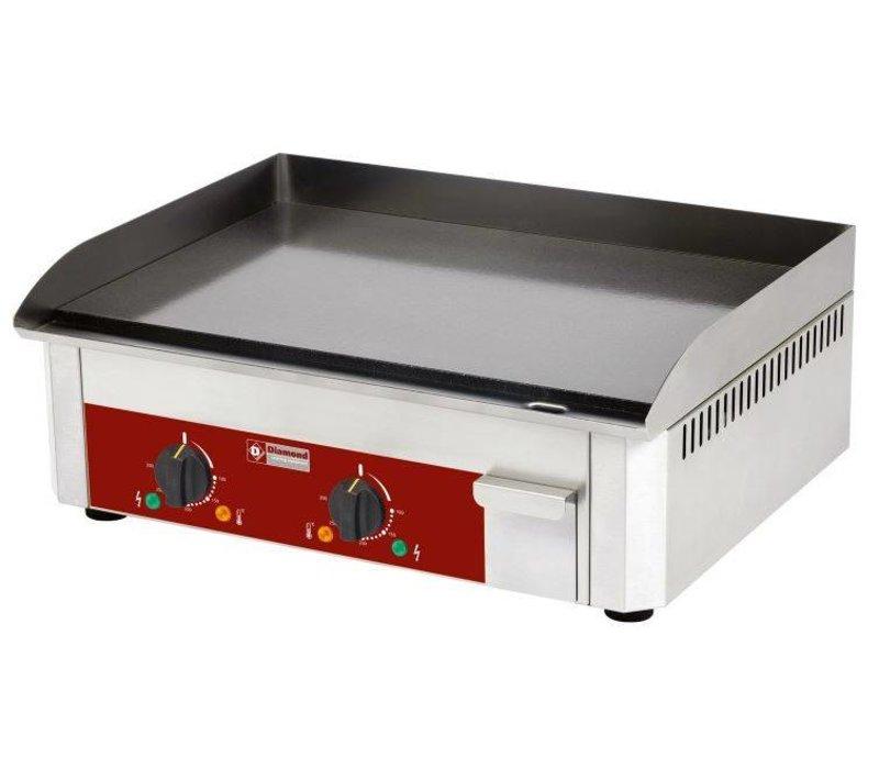 Diamond Emaillierte elektrische Kochplatte - glatt - 60x45x (h) 19cm - 6 kW