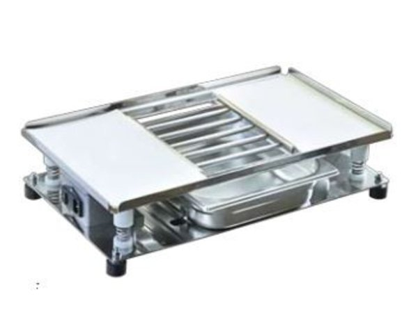 XXLselect Vibrierende Tabletop   Inkl. Grate und Fach   540x320mm