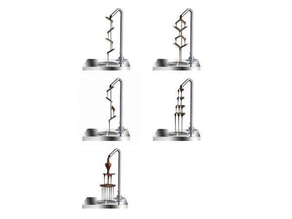 XXLselect Chocolate Crane ChocoHot-Two   1900W   740x460x830 (h) mm