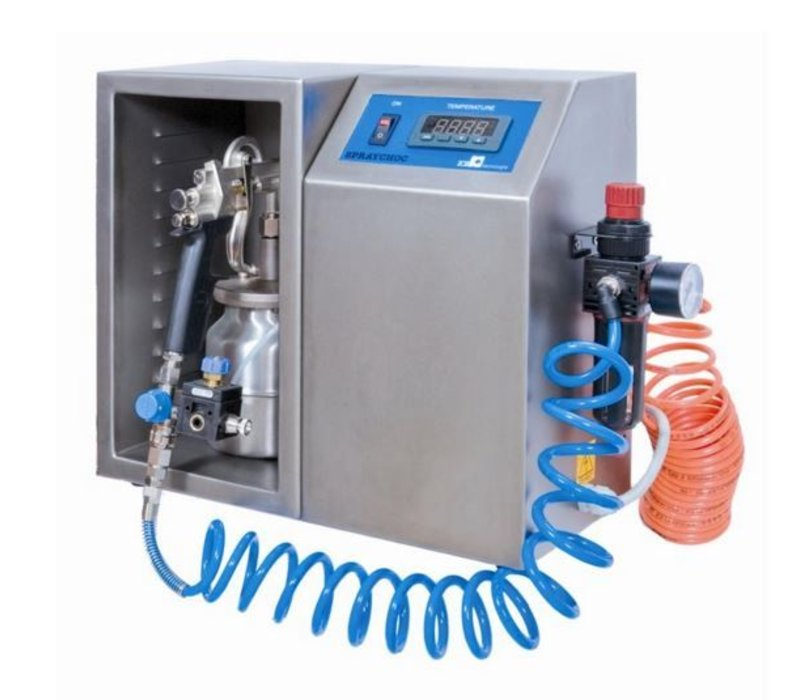 XXLselect Schokoladen-Sprayer   Spraychoc Micro   1 Liter   340x180x390 (h) mm