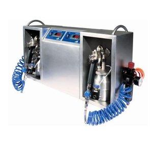 XXLselect Chocolade Spuitmachine | Spraychoc Maxi | 2 Liter | 700x200x400(h)mm