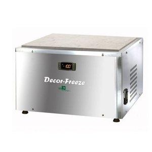 XXLselect Chocolade Koelwerkplaat | Decor-Freeze | 480W | 480x460x380(h)mm