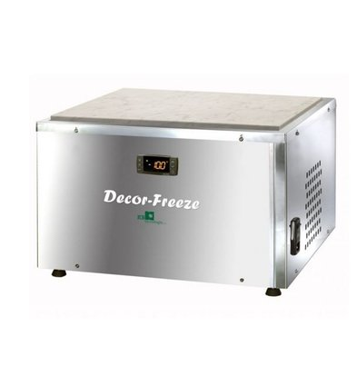 XXLselect Chocolade Koelwerkplaat | Decor-Freeze | 480W | 480x460x380(h)mm