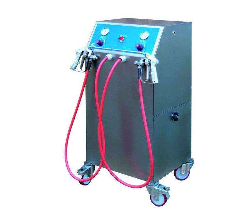 XXLselect Gelatine Dispenser Junior Two   1 Verwarmde Slang   530x590x1030(h)mm