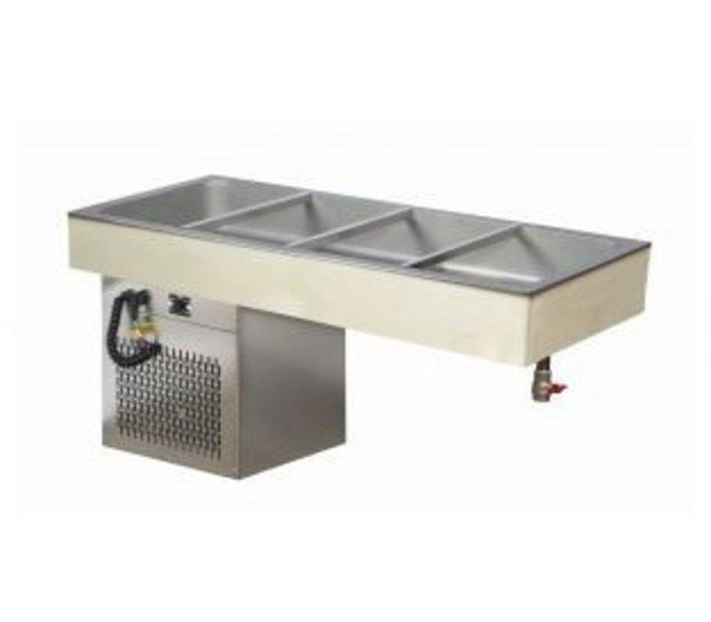 Combisteel Koelplaat 4/1 GN - 544W - 595x1362x650(h)mm