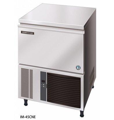 Hoshizaki Eis-Maschine 40kg / 24h | Hoshizaki IM 45CNE-HC | Natürliche Kältemittel R290 | Lagerung 15kg | Ice Größe L