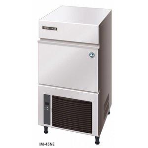 Hoshizaki Eis-Maschine 40kg / 24h | Hoshizaki IM-45NE-HC | Natürliche Kältemittel R290 | Lagerung 18kg | Ice Größe L