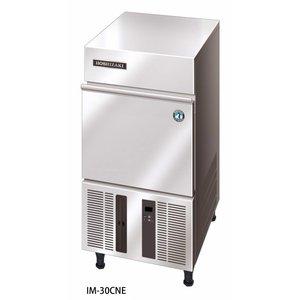 Hoshizaki Ice machine 28kg / 24h   Hoshizaki IM 30CNE   Stock 11,5kg   Ice size L