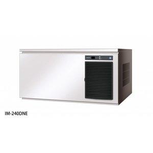 Hoshizaki Ice Machine 240kg / 24h   Hoshizaki IM 240DNE   Air-cooled   Ice size L