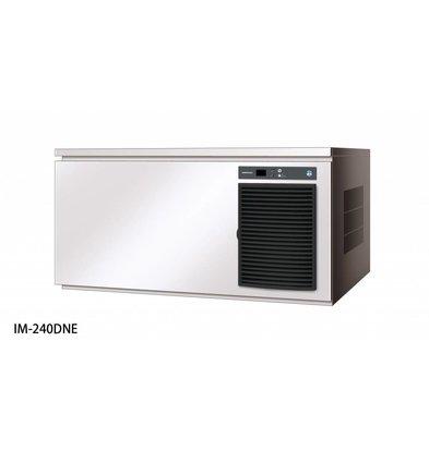 Hoshizaki Ice Machine 240kg / 24h | Hoshizaki IM 240DNE | Air-cooled | Ice size L