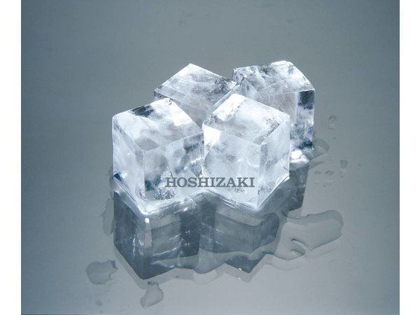 Hoshizaki Ice machine 40kg / 24h | Hoshizaki IM-45NE-HC | Natural Refrigerant R290 | Storage 18kg | Ice size L