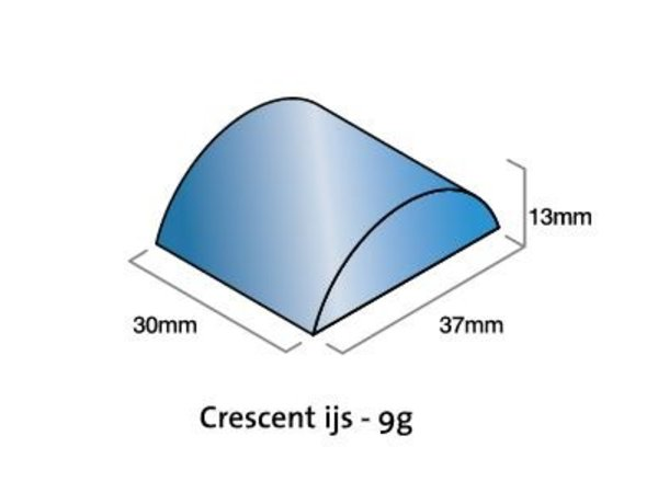 Hoshizaki Eismaschine 265kg / 24h | Hoshizaki KMD-270AA | Luftgekühlte | Keine Lagerung | Crescent Ice