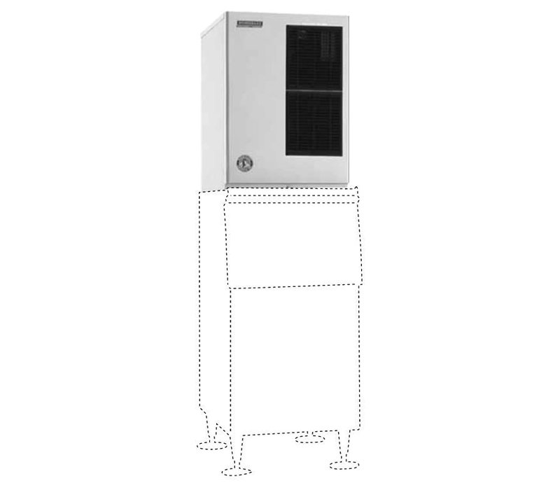 Hoaki Ice Machine 264kg 24h Km 515mah E Air Cooled No Storage Crescent