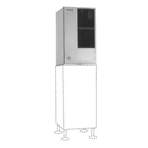 Hoshizaki Eismaschine 333kg / 24h | Hoshizaki KM-650MAH-E | Luftgekühlte | Keine Lagerung | Crescent Ice
