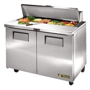 True Saladette 2 door - 340 Liter - 123x77x (h) 109cm - 5 years warranty