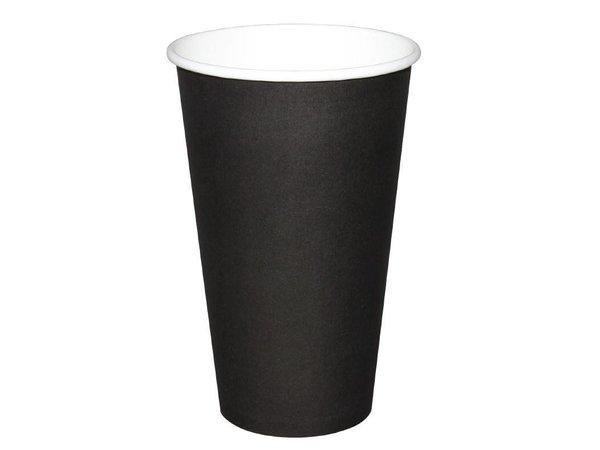 XXLselect Hot cups Cup - Black - 45CL - Disposable - Quantity 50