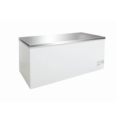 Combisteel Freezer with stainless steel lid | 526 Liter | 130W | 1604x675 / 720x860 (h) mm