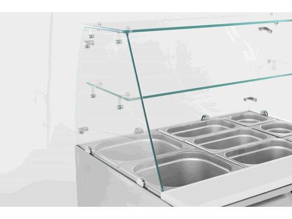 Combisteel Saladette 2 door | Glass Rebellion | 2,4kW | 900x700x850 (h) mm