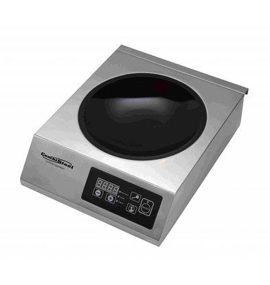 Combisteel Inductie wokplaat | Digitaal | 0,5-3,5kW | 340x440x117(h)mm