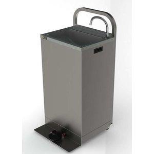 XXLselect Mobile Waschbecken - mit Fußschalter