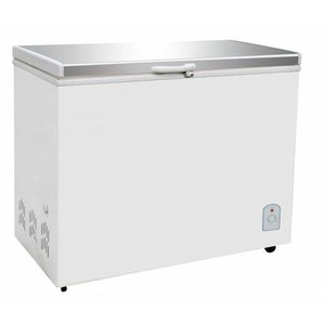 XXLselect Freezer with stainless steel lid | 260 Liter | 130W | 1055x575 / 630x845 (h) mm